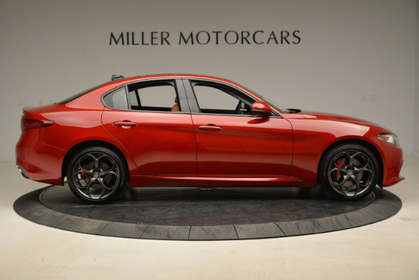 New 2018 Alfa Romeo Giulia Ti Sport Q4 for sale Sold at Bugatti of Greenwich in Greenwich CT 06830 9