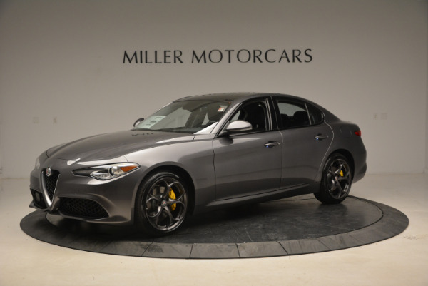 Used 2018 Alfa Romeo Giulia Ti Sport Q4 for sale $31,900 at Bugatti of Greenwich in Greenwich CT 06830 2