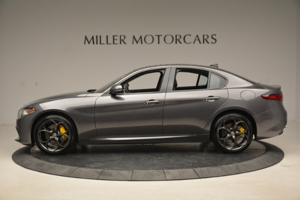 Used 2018 Alfa Romeo Giulia Ti Sport Q4 for sale $31,900 at Bugatti of Greenwich in Greenwich CT 06830 3