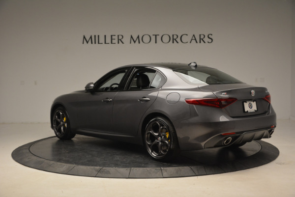 Used 2018 Alfa Romeo Giulia Ti Sport Q4 for sale $31,900 at Bugatti of Greenwich in Greenwich CT 06830 4