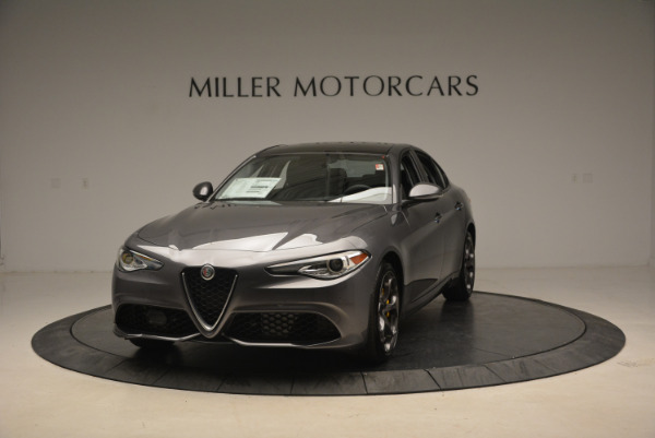 Used 2018 Alfa Romeo Giulia Ti Sport Q4 for sale $31,900 at Bugatti of Greenwich in Greenwich CT 06830 1