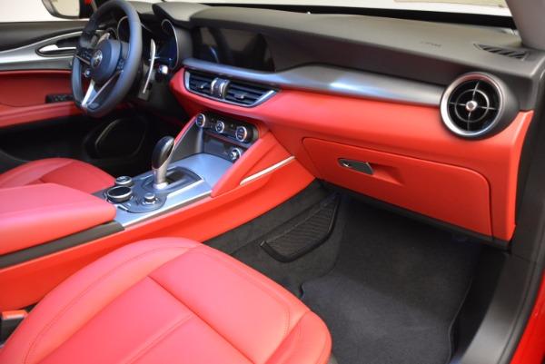 New 2018 Alfa Romeo Stelvio Sport Q4 for sale Sold at Bugatti of Greenwich in Greenwich CT 06830 19