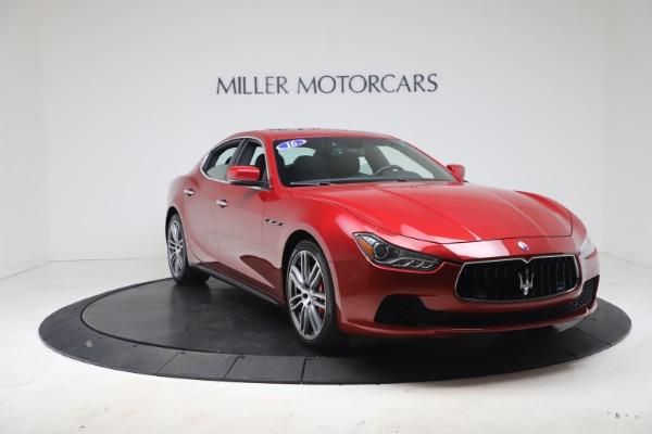 New 2016 Maserati Ghibli S Q4 for sale Sold at Bugatti of Greenwich in Greenwich CT 06830 11