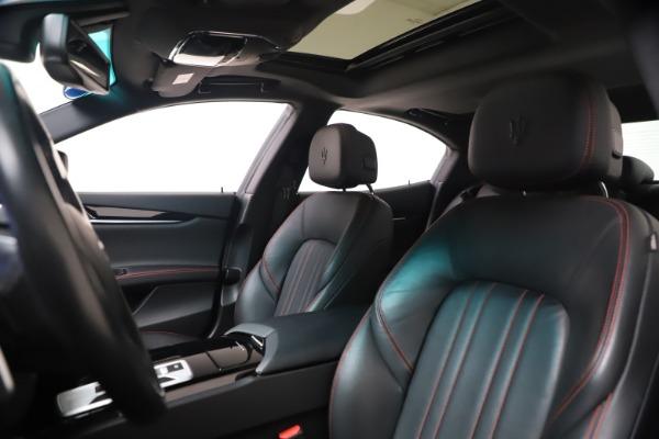 New 2016 Maserati Ghibli S Q4 for sale Sold at Bugatti of Greenwich in Greenwich CT 06830 15