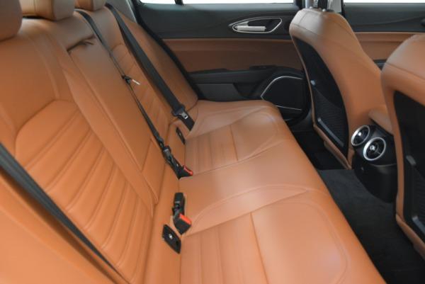 New 2018 Alfa Romeo Giulia Ti Lusso Q4 for sale Sold at Bugatti of Greenwich in Greenwich CT 06830 23