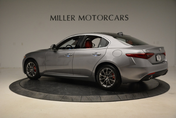 New 2018 Alfa Romeo Giulia Q4 for sale Sold at Bugatti of Greenwich in Greenwich CT 06830 4
