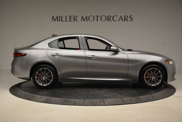New 2018 Alfa Romeo Giulia Q4 for sale Sold at Bugatti of Greenwich in Greenwich CT 06830 9