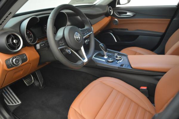 New 2018 Alfa Romeo Giulia Ti Lusso Q4 for sale Sold at Bugatti of Greenwich in Greenwich CT 06830 13