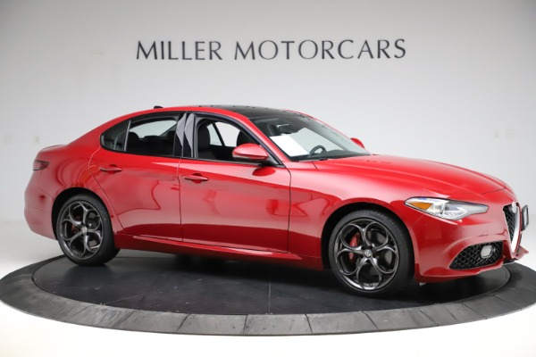 Used 2018 Alfa Romeo Giulia Ti Sport Q4 for sale $34,900 at Bugatti of Greenwich in Greenwich CT 06830 10