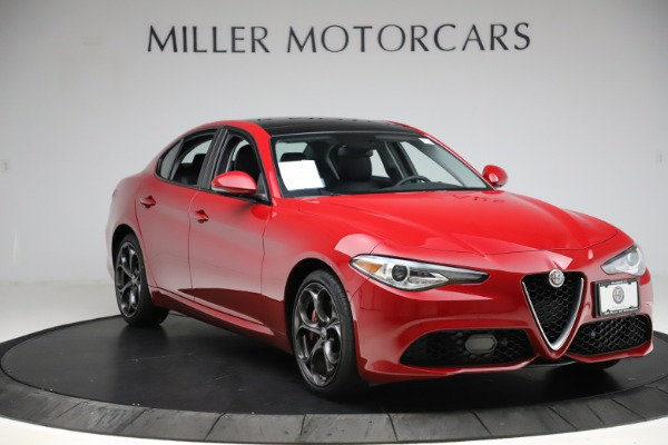 Used 2018 Alfa Romeo Giulia Ti Sport Q4 for sale $34,900 at Bugatti of Greenwich in Greenwich CT 06830 11
