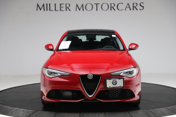 Used 2018 Alfa Romeo Giulia Ti Sport Q4 for sale $34,900 at Bugatti of Greenwich in Greenwich CT 06830 12