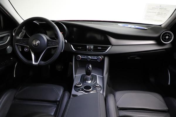 New 2018 Alfa Romeo Giulia Ti Sport Q4 for sale Sold at Bugatti of Greenwich in Greenwich CT 06830 16
