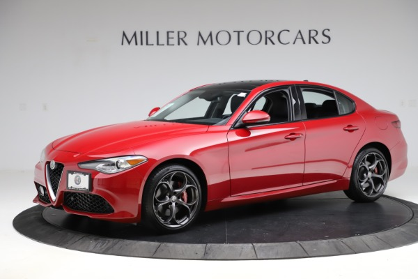 Used 2018 Alfa Romeo Giulia Ti Sport Q4 for sale $34,900 at Bugatti of Greenwich in Greenwich CT 06830 2