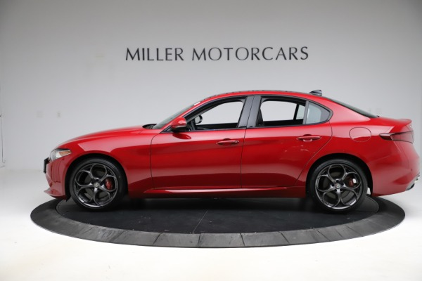 Used 2018 Alfa Romeo Giulia Ti Sport Q4 for sale $34,900 at Bugatti of Greenwich in Greenwich CT 06830 3