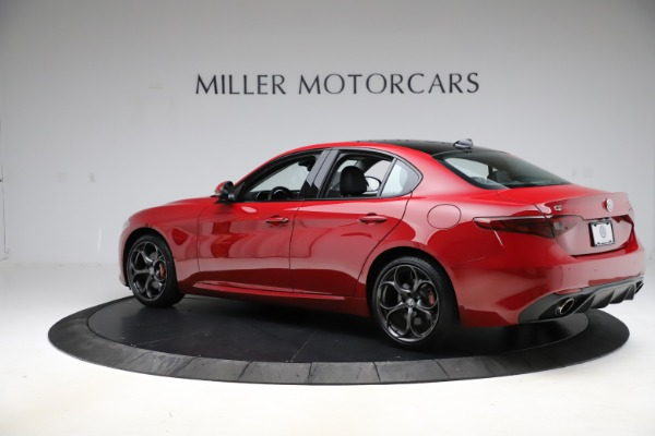 Used 2018 Alfa Romeo Giulia Ti Sport Q4 for sale $34,900 at Bugatti of Greenwich in Greenwich CT 06830 4