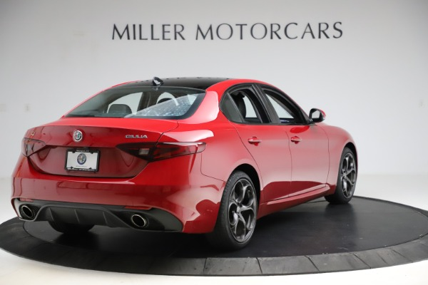 Used 2018 Alfa Romeo Giulia Ti Sport Q4 for sale $34,900 at Bugatti of Greenwich in Greenwich CT 06830 7