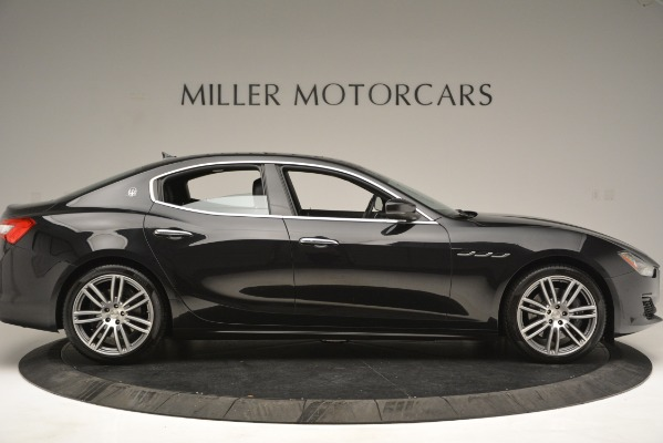 Used 2018 Maserati Ghibli S Q4 for sale Sold at Bugatti of Greenwich in Greenwich CT 06830 9