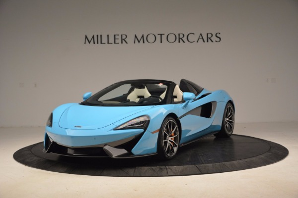 New 2018 McLaren 570S Spider for sale Sold at Bugatti of Greenwich in Greenwich CT 06830 1