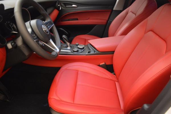 New 2018 Alfa Romeo Stelvio Ti Sport Q4 for sale Sold at Bugatti of Greenwich in Greenwich CT 06830 14
