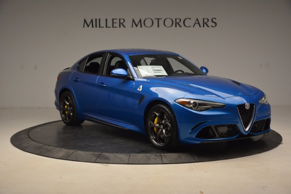 New 2018 Alfa Romeo Giulia Quadrifoglio for sale Sold at Bugatti of Greenwich in Greenwich CT 06830 11