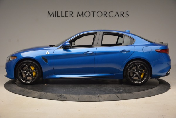 New 2018 Alfa Romeo Giulia Quadrifoglio for sale Sold at Bugatti of Greenwich in Greenwich CT 06830 3