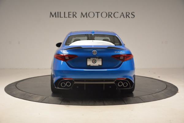 New 2018 Alfa Romeo Giulia Quadrifoglio for sale Sold at Bugatti of Greenwich in Greenwich CT 06830 6
