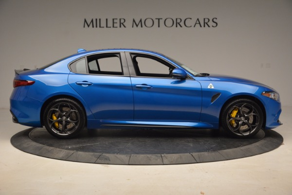 New 2018 Alfa Romeo Giulia Quadrifoglio for sale Sold at Bugatti of Greenwich in Greenwich CT 06830 9