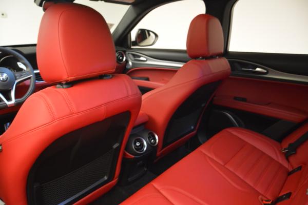 New 2018 Alfa Romeo Stelvio Ti Sport Q4 for sale Sold at Bugatti of Greenwich in Greenwich CT 06830 16