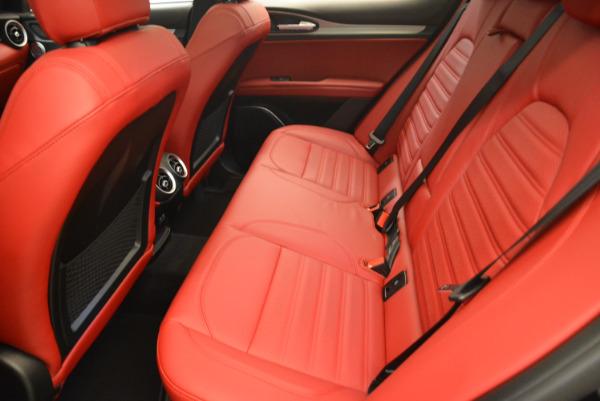 New 2018 Alfa Romeo Stelvio Ti Sport Q4 for sale Sold at Bugatti of Greenwich in Greenwich CT 06830 17