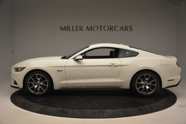Used 2015 Ford Mustang GT 50 Years Limited Edition for sale Sold at Bugatti of Greenwich in Greenwich CT 06830 3