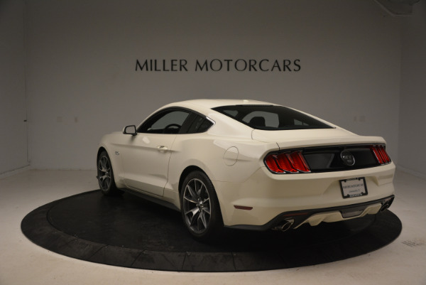 Used 2015 Ford Mustang GT 50 Years Limited Edition for sale Sold at Bugatti of Greenwich in Greenwich CT 06830 5