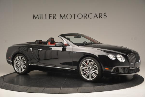 Used 2014 Bentley Continental GT Speed Convertible for sale Sold at Bugatti of Greenwich in Greenwich CT 06830 10
