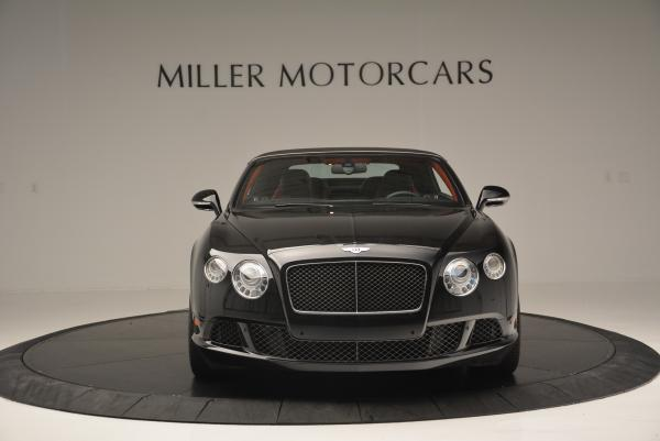 Used 2014 Bentley Continental GT Speed Convertible for sale Sold at Bugatti of Greenwich in Greenwich CT 06830 13