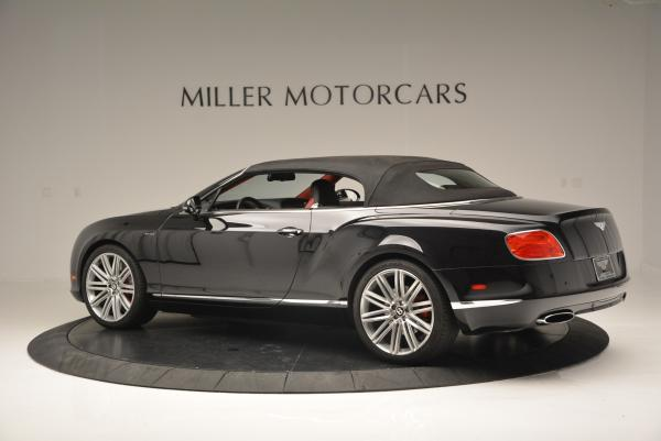 Used 2014 Bentley Continental GT Speed Convertible for sale Sold at Bugatti of Greenwich in Greenwich CT 06830 17