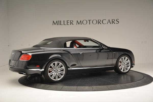 Used 2014 Bentley Continental GT Speed Convertible for sale Sold at Bugatti of Greenwich in Greenwich CT 06830 21