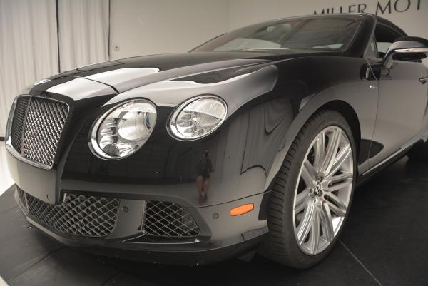 Used 2014 Bentley Continental GT Speed Convertible for sale Sold at Bugatti of Greenwich in Greenwich CT 06830 26