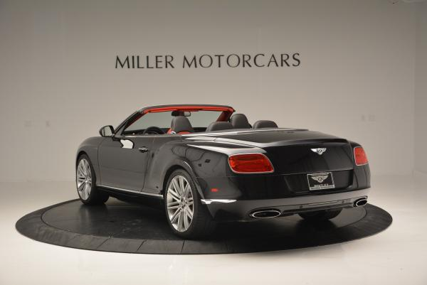 Used 2014 Bentley Continental GT Speed Convertible for sale Sold at Bugatti of Greenwich in Greenwich CT 06830 5