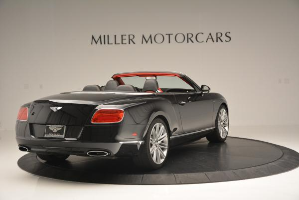 Used 2014 Bentley Continental GT Speed Convertible for sale Sold at Bugatti of Greenwich in Greenwich CT 06830 7