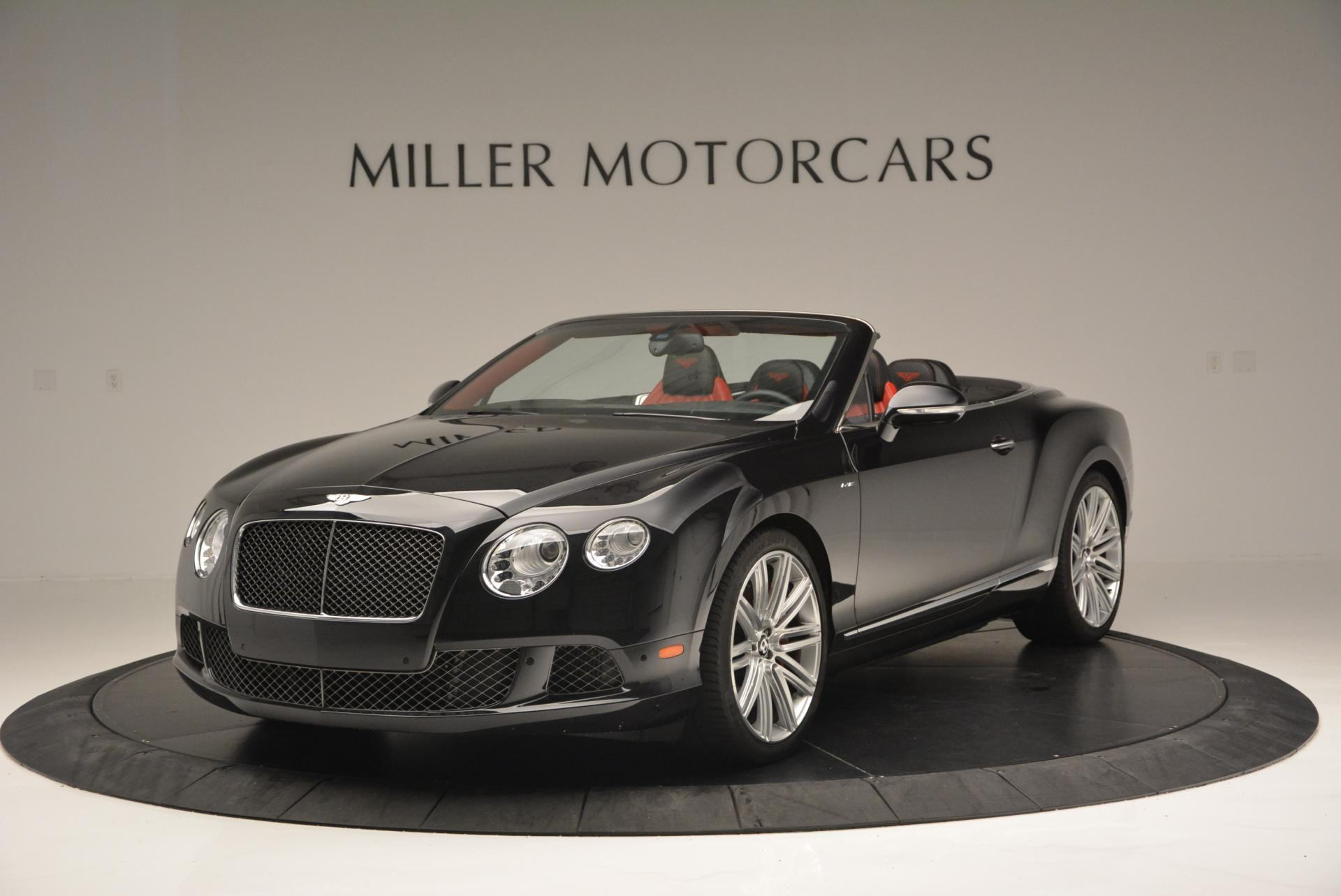 Used 2014 Bentley Continental GT Speed Convertible for sale Sold at Bugatti of Greenwich in Greenwich CT 06830 1