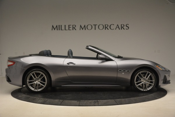 New 2018 Maserati GranTurismo Sport Convertible for sale Sold at Bugatti of Greenwich in Greenwich CT 06830 18