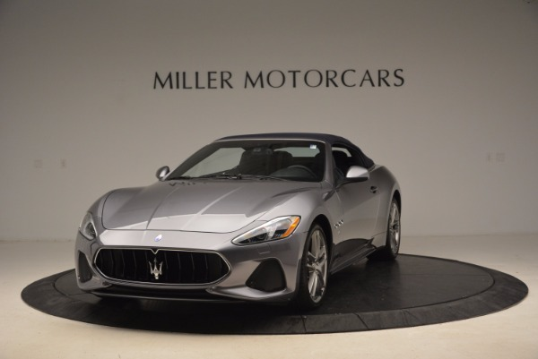 New 2018 Maserati GranTurismo Sport Convertible for sale Sold at Bugatti of Greenwich in Greenwich CT 06830 2
