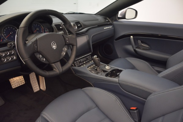 New 2018 Maserati GranTurismo Sport Convertible for sale Sold at Bugatti of Greenwich in Greenwich CT 06830 25