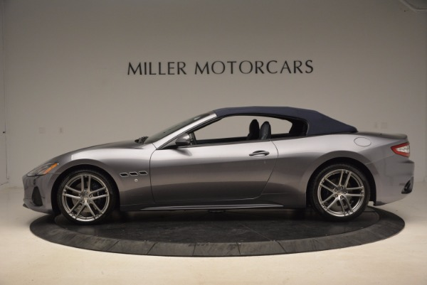 New 2018 Maserati GranTurismo Sport Convertible for sale Sold at Bugatti of Greenwich in Greenwich CT 06830 5