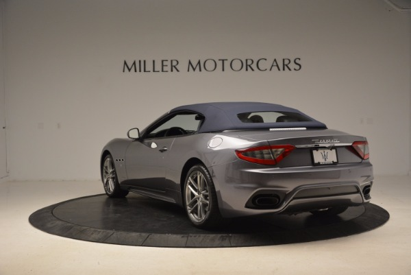 New 2018 Maserati GranTurismo Sport Convertible for sale Sold at Bugatti of Greenwich in Greenwich CT 06830 9