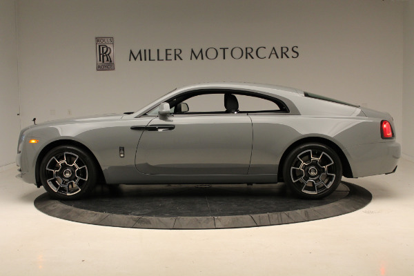 New 2018 Rolls-Royce Wraith Black Badge for sale Sold at Bugatti of Greenwich in Greenwich CT 06830 3
