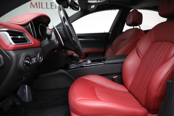 New 2018 Maserati Ghibli S Q4 GranLusso for sale Sold at Bugatti of Greenwich in Greenwich CT 06830 14