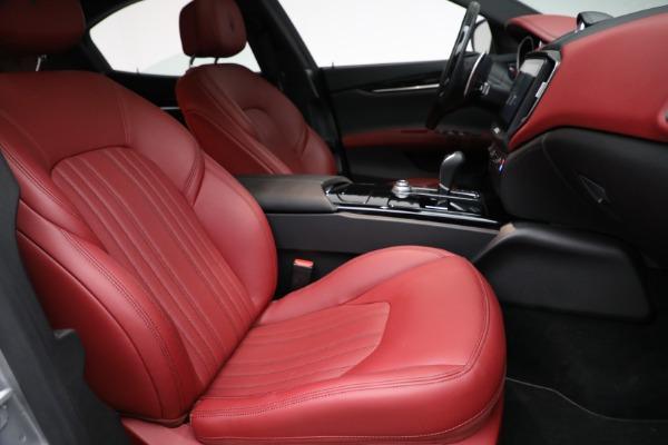New 2018 Maserati Ghibli S Q4 GranLusso for sale Sold at Bugatti of Greenwich in Greenwich CT 06830 20