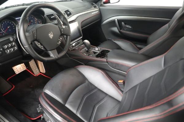 Used 2018 Maserati GranTurismo Sport for sale Sold at Bugatti of Greenwich in Greenwich CT 06830 13