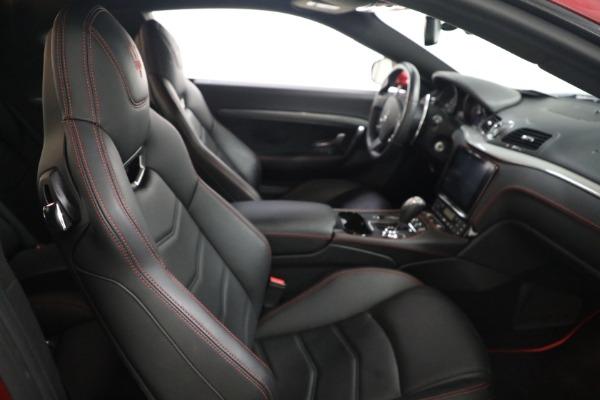 Used 2018 Maserati GranTurismo Sport for sale Sold at Bugatti of Greenwich in Greenwich CT 06830 19