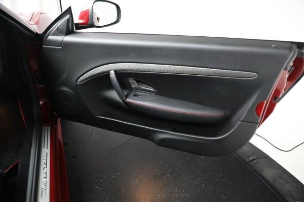 Used 2018 Maserati GranTurismo Sport for sale Sold at Bugatti of Greenwich in Greenwich CT 06830 22